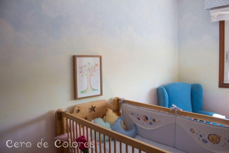 Por qu he decidido pintar la habitaci n de mi hija con la - Tecnicas para pintar una habitacion ...